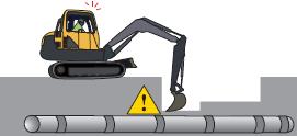 Agatec EZDigPro works with any type of excavator